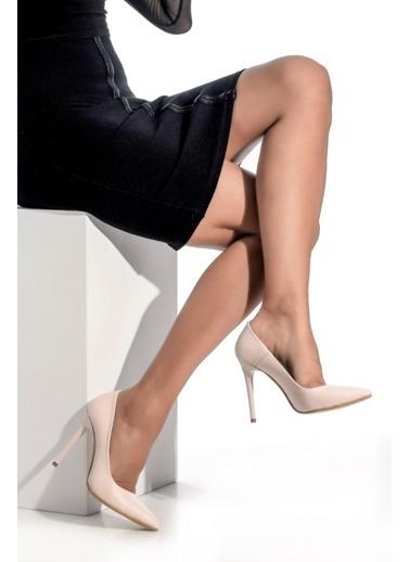 Derigo Topuklu Ayakkabı Ten